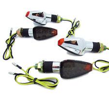 4X UNIVERSAL MOTORCYCLE 14 LED TURN SIGNALS INDICATOR LIGHT AMBER BLINKER 12V