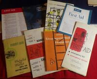 VINTAGE FIRST AID MEDICINE BOOKLETS, CLIPPINGS AND ADVERTISING MEMORABILIA!!!