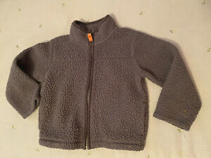 Carter's warm snugly Gray jacket size 24 Mo