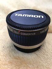 tamron 2x teleconverter To Fit Olympus
