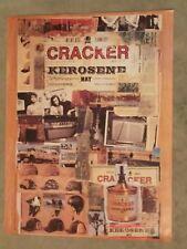 """CRACKER KEROSENE HAT 1993 PROMOTIONAL POSTER 18"""" X 24"""" EDGE WEAR GOOD+"""