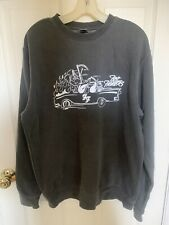 Foo Fighters Grey Gray Sweatshirt Medium M Rare Collectible Unisex
