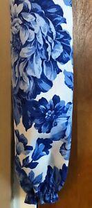 Pioneer Woman Heritage Floral Handmade Plastic Bag Holder Blue White Free Ship