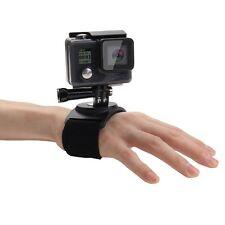 PULUZ 3 in 1 Hand Wrist Arm Leg Straps 360-degree Rotation Mount for GoPro HERO