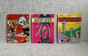 Lucky Luke Lot x 3 Issues # 19, 35, 38 The 20th Cavalry 1970s Greek Language