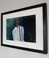 Liam Gallagher Photo-Luxury Framed-Oasis-Knebworth-Stone Roses-Live Forever