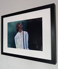 Liam Gallagher Photo-Luxury Framed-Oasis-Knebworth-Stone Roses-Noel Gallagher