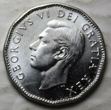 Canada 1952 5 Cents, Brilliant Uncirculated