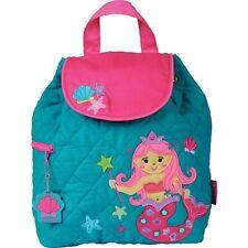 Stephen Joseph quilted backpack teal mermaid
