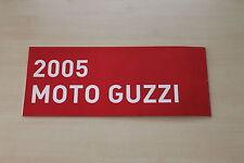 167574) Moto Guzzi - Modellprogramm - Prospekt 2005