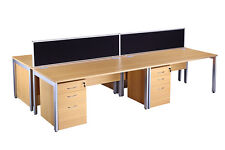 New Bench style desk, delivery and installation available through UK
