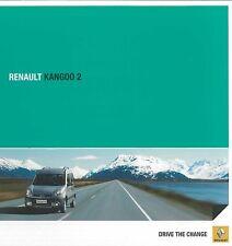 2013 RENAULT KANGOO 2 PROSPEKT BROCHURE CATALOGUE SPANISCH ARGENTINIEN