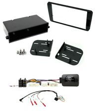 Single/Double Din Facia Fitting Kit and Steering adaptor to fit Subaru BRZ 17 on