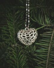Bam Margera Textured Heart Pendant (Heartagram, Him, Jewelry)