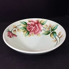 "Beautiful Rare Vintage Lefton Japan Americana 9 1/4"" Round Serving Bowl"