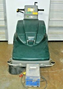 """Nobles Scout 28 (31"""") Floor Sweeper w/ Charger Janitor, Custodial, Industrial"""