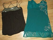 Womens size 10 party top bundle brown green Chilli Pepper