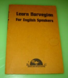Learn Norwegian for English Speakers by C. A. Thimm