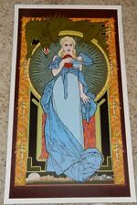 Game of Thrones Mother of Dragons Poster Signed Bob Masse