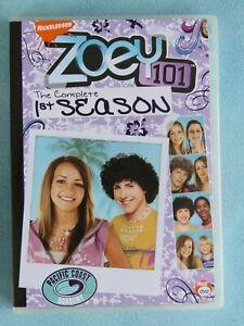 ZOEY 101 THE COMPLETE 1ST SEASON DVD TV JAMIE LYNN SPEARS NICKELODEON ALEXA NIKO