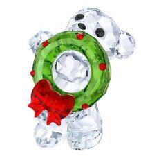 New in Box Swarovski Kris bear Christmas Wreath 2017 Annual Edition #5286159
