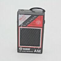 Vintage Boxer Ultra Dynamic Sound AM Radio Receiver Used