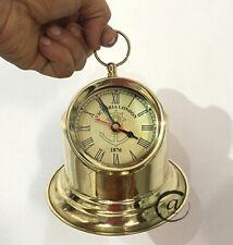Valentine Home DIY Clocks Brass Shiny Office Desk Clocks Mantel Tabletop Cloc
