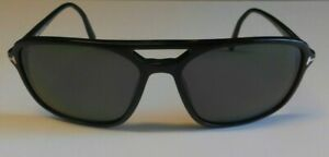 TOM FORD TERRY TF332 01B 58/16-140 Sonnenbrille schwarz - Gut erhalten