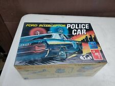 Amt Ford Intercepter Police Car 1/25 Scale Model Kit #T227-225