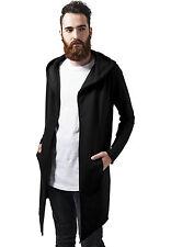 Urban Classics Long Hooded Open Edge Cardigan Uomo Rot (burgundy 606) Xx-larg