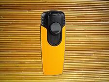 Feuerzeug Sky Modell Makro Lack gelb / schwarz 2 x Jet-Flamme