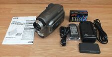 Genuine JVC (GR-SXM527U) Super VHS Digital Signal Processing Camcorder Bundle