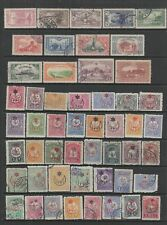 Turkey 1914 - 1925 collection, 118 stamps