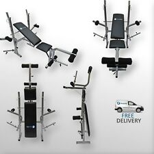 BodyRip Easy Folding Weight Bench Weight Rack Incline Decline Home Gym Equipment