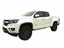FTCH246 15-17 Chevy Colorado / GMC Canyon   POLISHED STAINLESS STEEL FENDER TRIM