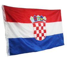 3ft x 5ft Croatia Flag Polyester Country Banner Republic Pennant