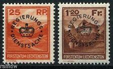 Liechtenstein Dienstmarken 1933** (S5009)