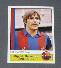 44 MIGUELI BLAUGRANA BARCELONA PANINI LIGA FUTBOL 87 ESPAÑA 1986-1987 FOOTBALL