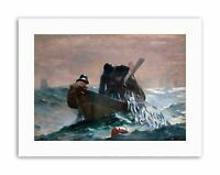 WINSLOW HOMER HERRING NET Picture Painting Old Master Canvas art Prints