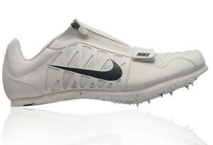 Nike Mnes Zoom Long Jump 4 Track Spikes - 415339 003 - White/Black