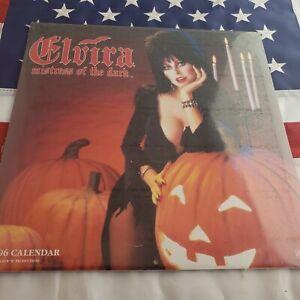 Elvira Mistress of the Dark 1996 Wall Calendar