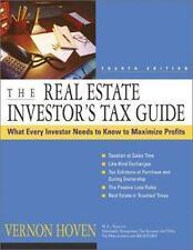 The Real Estate Investor's Tax Guide, Hoven, Vernon, Good Book