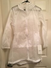 Lululemon Loud And Clear Jacket Sz 6 NWT White (Sold Out Style) Water Repellent