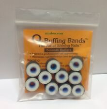 Q-Buffing Nails Buffing Bands SMOOTH BUFFERS The Art Of Shining Nails (10/Pack)