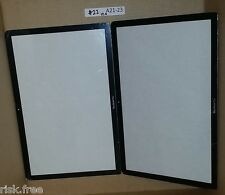 "Lot of 2 Front Glass Cover for 15"" 15.4"" Apple Unibody Macbook Pro A1286"