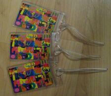 W Hotel Luggage Tags -  Marriott International Hotels Repurposed Cards Set (3)