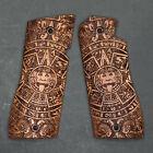 Duragrips - Star Bm Bkm Custom Exotic Wood Grips - Aztec Calendar