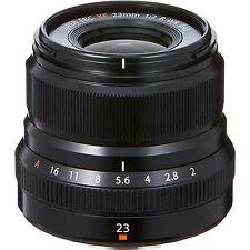 Fujifilm 16523169 XF 23mm F2 R WR Objektiv - Schwarz