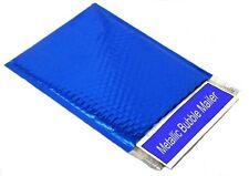 "Glamour Mailer Bubble Env - Metallic Blue 7 1⁄2 x 11"" S-11504BLU 72/Case - Uline"