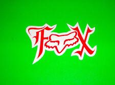 FOX RACING SUPERCROSS MOTOCROSS SKATEBOARD BMX WAKEBOARD MISSFIRE STICKER DECAL